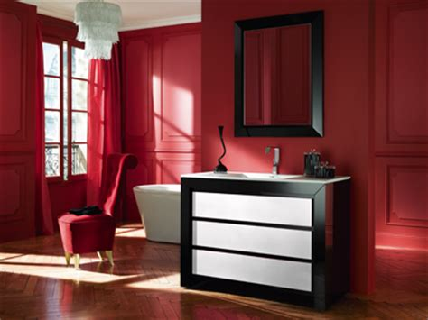meubles salle de bain decotec collection vendome yvelines sanitaire