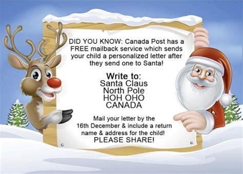 canada post  letter   santa bargainmoose