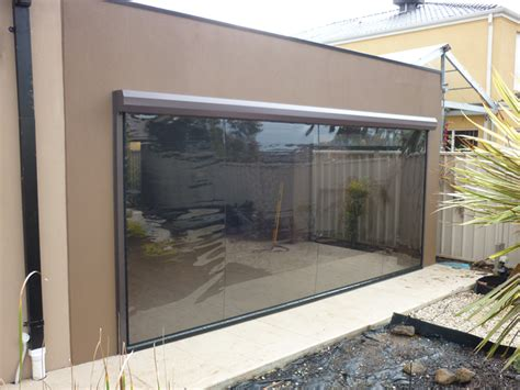 japanese quality outdoor clear plastic pvc blinds
