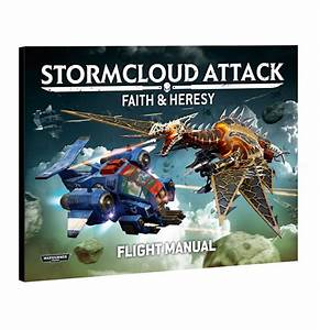 Stormcloud Attack Flight Manual  U2013 Space Marines  Chaos