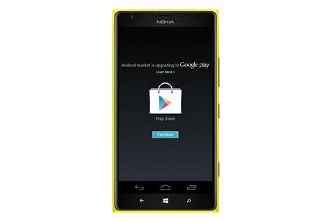 installer les applications android sur les windows phone