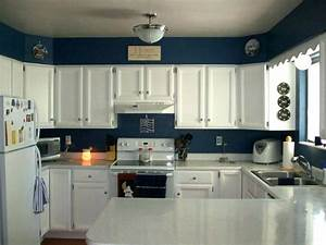 excellent blue kitchen paint colors images best With kitchen colors with white cabinets with us navy stickers