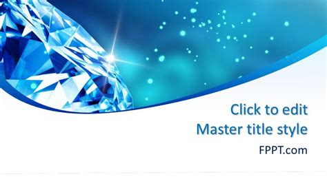 diamond powerpoint template  powerpoint templates