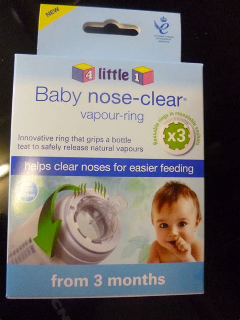 Adventures Of A Yorkshire Mum Baby Nose Clear Vapour Ring