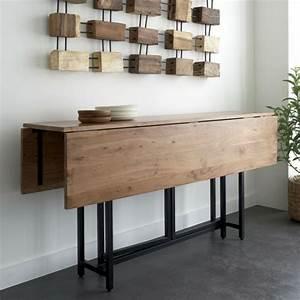 Table Pour Petite Cuisine : la table de cuisine pliante 50 id es pour sauver d ~ Dailycaller-alerts.com Idées de Décoration