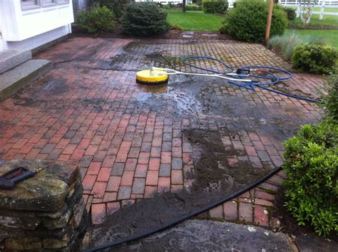 paver cleaning power washing in hebron ct