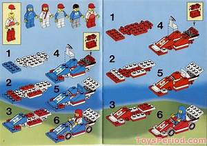 Lego 6381 Motor Speedway Set Parts Inventory And