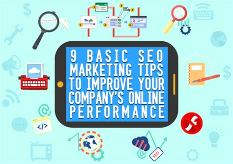 Seo Marketing Techniques by 9 Basic Seo Marketing Tips To Improve Your Company S
