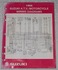 1995 Suzuki Motorcycle Atv Wiring Diagrams Manual