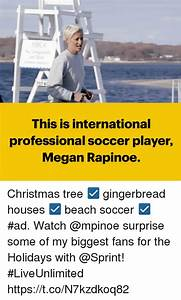 This Is International Professional Soccer Player Megan ...