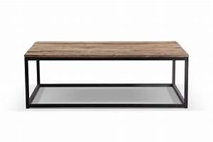 Table Basse Hauteur 60 Cm : table basse industrielle en m tal et bois tb02 rose ~ Dailycaller-alerts.com Idées de Décoration