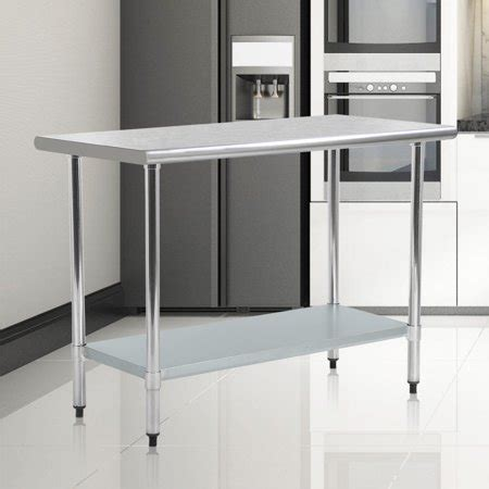 stainless steel kitchen work table commercial restaurant