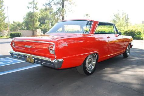find   chevy nova  door hardtop  series