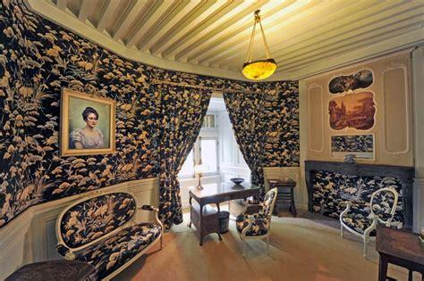 chambre bleue appartement de louise comtesse de