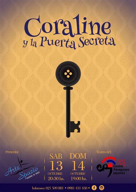 Coraline y la puerta secreta (2009) película completa en español latino online, ver todas las películas online gratis, películas online en coraline y la puerta secreta (2009). Coraline y la puerta Secreta en el CPJ - Cultura y Turismo