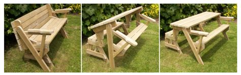 folding bench  picnic table combo build instructions