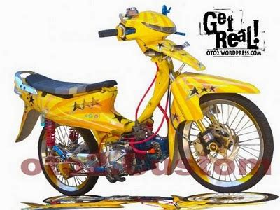 Modifikasi Smash 110cc by Modifikasi Suzuki Smash 110 Makin Tangguh Dan Sporty