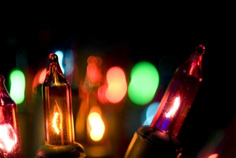photo of colorful festive lights free christmas images