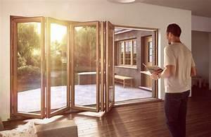 Falttüren Glas Innen : sunflex holz glasfaltt ren sf75 f r terrasse ~ Watch28wear.com Haus und Dekorationen