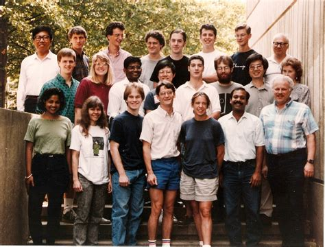 Metcalf Research Group  Group Photo 1993
