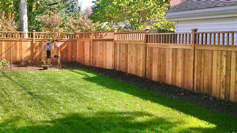 privacy fences good fences make good neighbors straight line fence