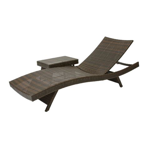 outdoor chaise lounge chairs best selling home decor 253964 lounge chair table lowe