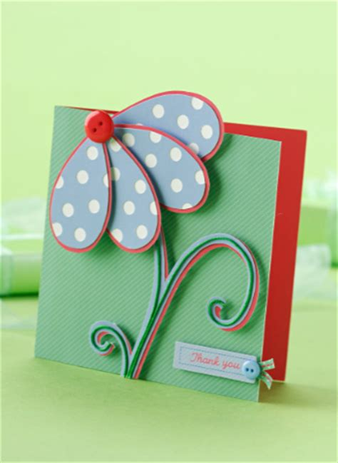 Free Card Making Project Fantastic Flower! Papercraft