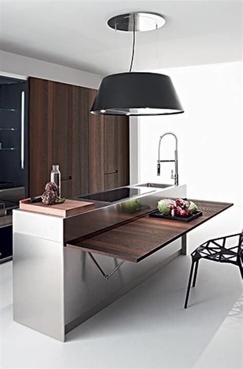 kitchen cabinet space saving ideas składany blat i stoliki ścienne kokopelia design 7957