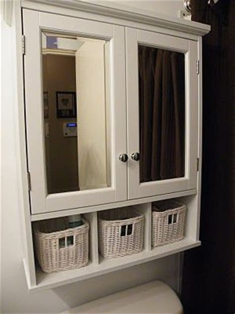 cabinet  toilet great idea