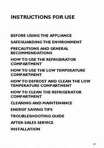 Whirlpool Arg 588 3 Fridge   Refrigerator Download Manual