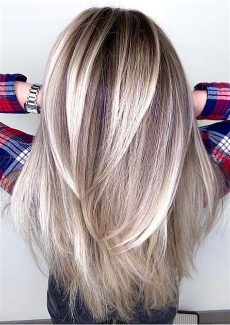 Awesome Straight Balayaged Long Hairstyles Ideas in 2019