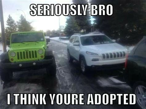 jeep quotes jeep wrangler vs new cherokee funny pinterest new