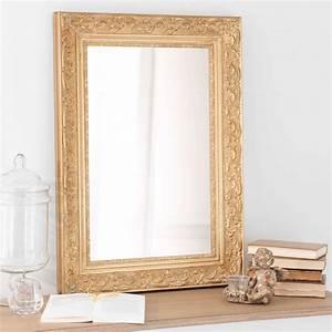 Miroir Dor Maison Du Monde Ides De Dcoration