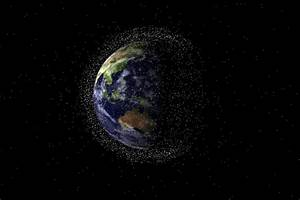 Junk Space Earth Orbit - Pics about space