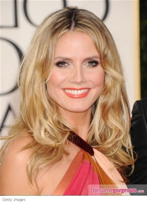 arinenal pictures of heidi klum hairstyles