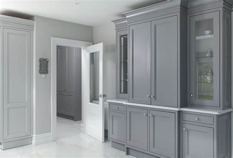 classic style inframe painted grey kitchen dublin