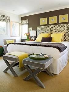 Yellow, Bedrooms