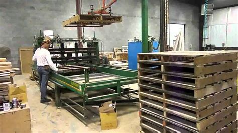 pallet assembly  westwood products youtube