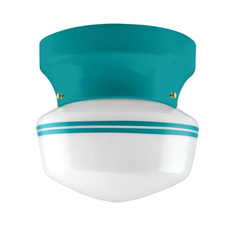 Schoolhouse Flush Mount Lighting by The Kao Schoolhouse Flush Mount Barn Light Electric