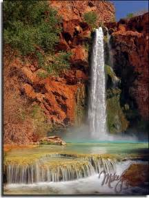 Mooney Falls Waterfall