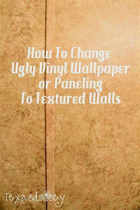 texasdaisey creations   change ugly vinyl wallpaper