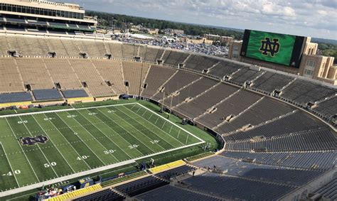 nbc sports delivers  hdr coverage  notre dame football