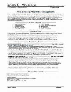 property manager resume sample http resumesdesigncom With property manager resume template free