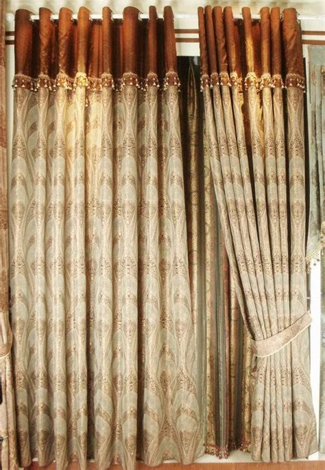 china golden thread jacquard curtain c01016 china