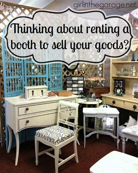 thinking  renting  booth  sell  goods girl
