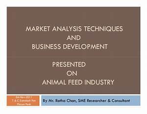 Market analysis & BD techniques