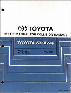 2005 Toyota Rav4 Repair Shop Manual Set Original