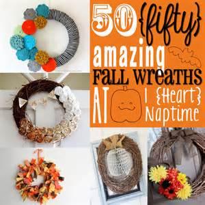 Pinterest DIY Fall Wreaths Ideas