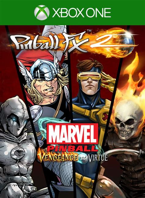 marvel pinball vengeance and virtue for xbox one 2014 mobygames