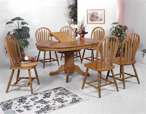 Crown Mark Dark Oak Dining Room Set  Dining Room Sets